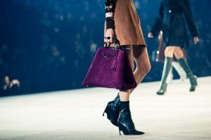 Dior Violet Suede Tote Bag - Pre-Fall 2015