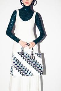 Dior White Printed Diorissimo Tote Bag 2 - Pre-Fall 2015