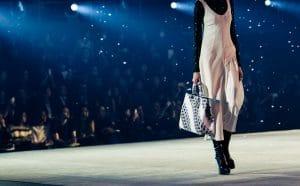 Dior White Printed Diorissimo Tote Bag - Pre-Fall 2015