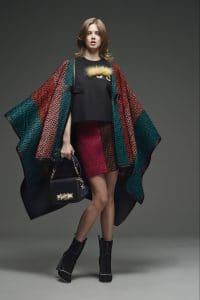 Fendi Black Baguette Bag - Pre-Fall 2015