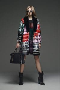 Fendi Black with Multicolor Trims 3Jours Tote Bag - Pre-Fall 2015