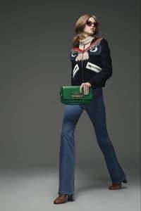 Fendi Green Baguette Bag - Pre-Fall 2015