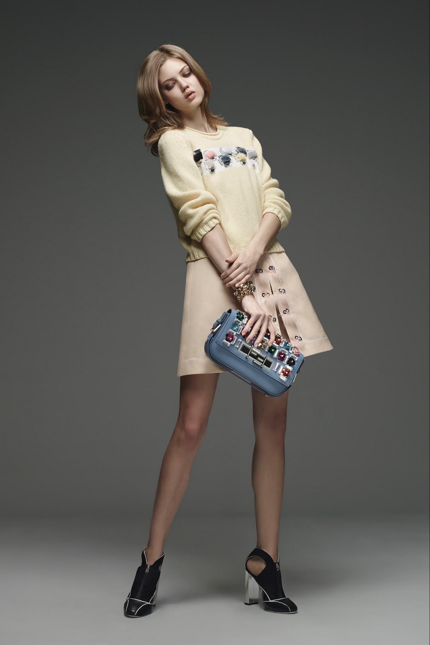 Fendi Pre Fall 2015 Lookbook Collection Spotted Fashion