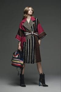 Fendi Black/Multicolor Beaded Baguette Bag - Pre-Fall 2015