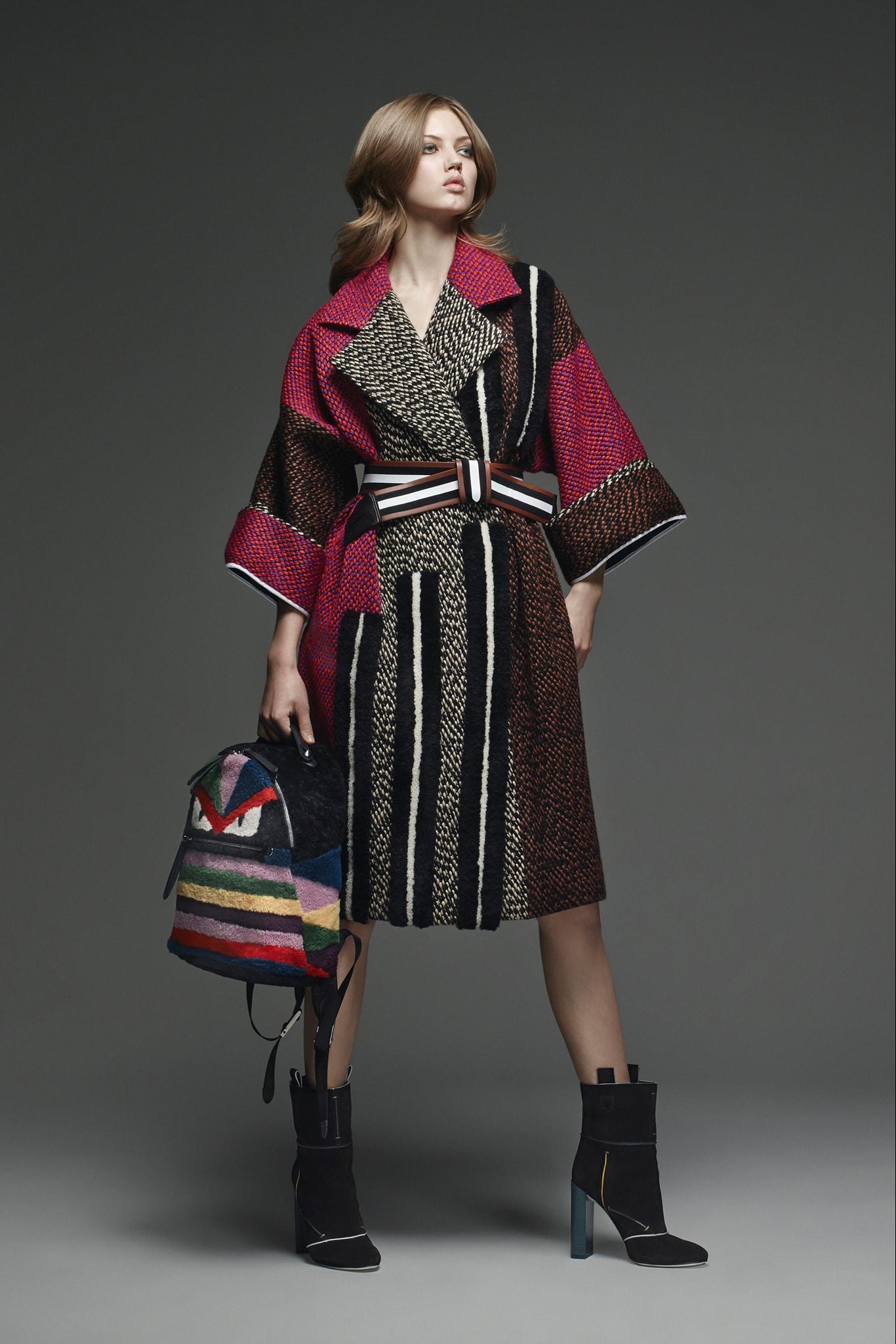 Fendi pre fall 2015 lookbook collection spotted fashion In style winter fashion 2014