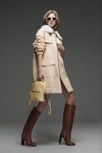 Fendi Yellow Backpack Mini Bag - Pre-Fall 2015