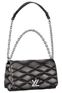 Louis Vuitton Black Ombre Twist Malletage Bag - Spring 2015