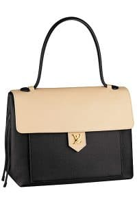 Louis Vuitton Black/Beige Lockme Tote Bag - Spring 2015