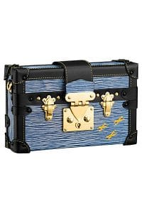Louis Vuitton Blue Epi Denim Petite Malle Bag - Spring 2015
