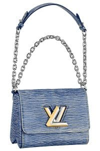 Louis Vuitton Blue Epi Denim Twist PM Bag - Spring - 2015