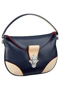 Louis Vuitton Blue Moon Besace Taiga GM Bag 1 - Spring 2015
