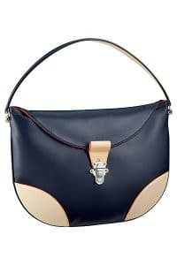 Louis Vuitton Blue Moon Besace Taiga GM Bag 3 - Spring 2015