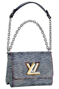 Louis Vuitton Dark Blue Epi Denim Twist Bag PM Bag - Spring 2015