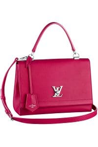 Louis Vuitton Fuchsia Pink Flap Bag - Spring 2015