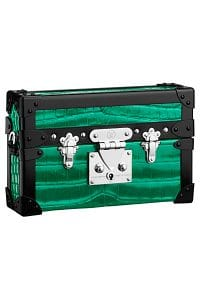 Louis Vuitton Green Metallic Crocodile Petite Malle Bag - Spring 2015
