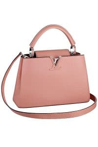 Louis Vuitton Light Pink Capucines BB Bag - Spring 2015