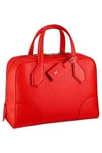 Louis Vuitton Red Taurillon Dora Souple BB Bag - Spring 2015