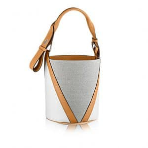 Louis Vuitton Tan V Bucket GM Bag 1