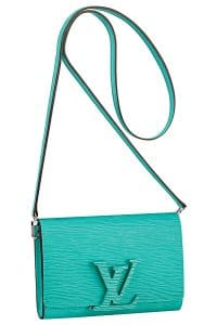 Louis Vuitton Turquoise Epi Louise PM Bag - Spring 2015