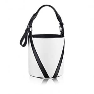 Louis Vuitton White V Bucket GM Bag 1