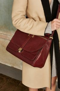 Mulberry Oxblood Satchel Bag 2 - Pre-Fall 2015