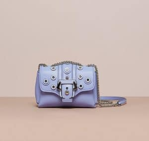Paula Cademartori Purple Grey Studded Kate Bag - Cruise 2015