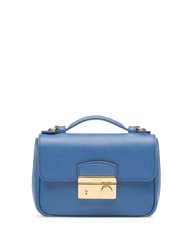 3bd199b34e16 Prada Saffiano Mini Bag Reference Guide | Spotted Fashion