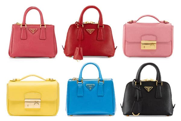 726f7bf25 Prada Saffiano Mini Bag Reference Guide | Spotted Fashion