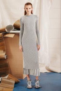 Proenza Schouler Beige Sweater Dress - Pre-Fall 2015