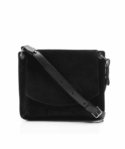 Proenza Schouler Black Suede Lux Prospect Bag