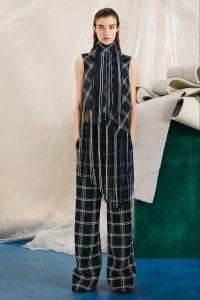 Proenza Schouler Blue Plaid Top and Pants - Pre-Fall 2015