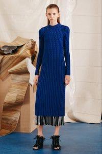 Proenza Schouler Blue Sweater Dress - Pre-Fall 2015