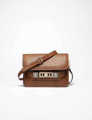 Proenza Schouler Tan PS11 Mini Classic Bag