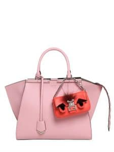 Fendi 3Jours with Micro Baguette in Pink