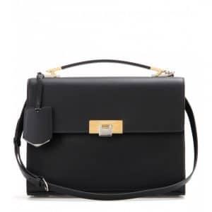 Balenciaga Black Le Dix Cartable S Bag