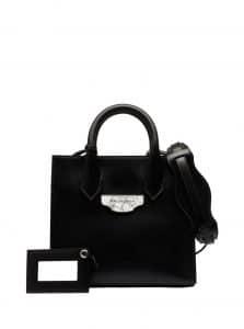 Balenciaga Black Nude All Afternoon Mini Bag
