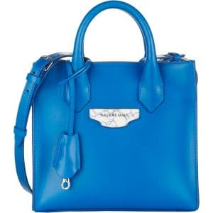 Balenciaga Bleu Paon Nude All Afternoon Mini Bag