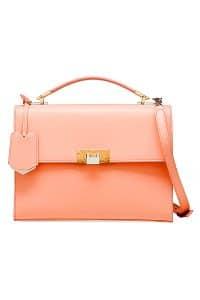 Balenciaga Peach Le Dix Cartable S Bag
