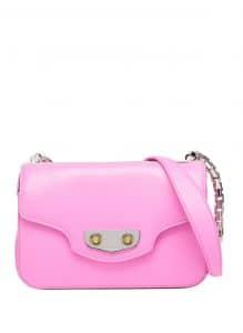 Balenciaga Rose Bubble Gum Neo Classic Chain S Bag