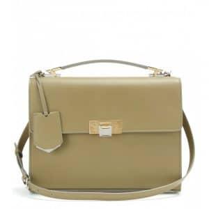Balenciaga Vert Khaki Le Dix Cartable S Bag