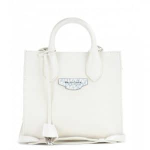 Balenciaga White Nude All Afternoon Mini Bag