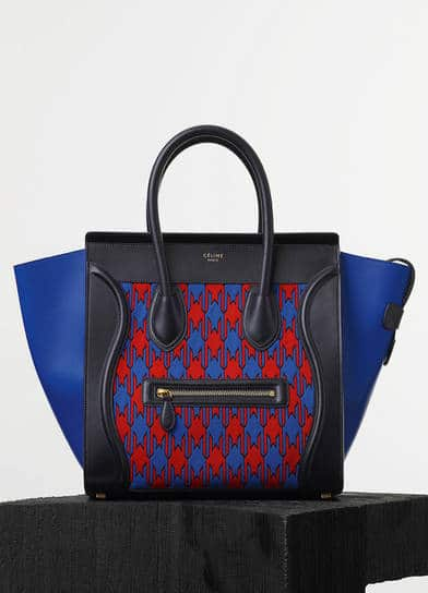 celine handbags cost - celine tricolour luggage bag
