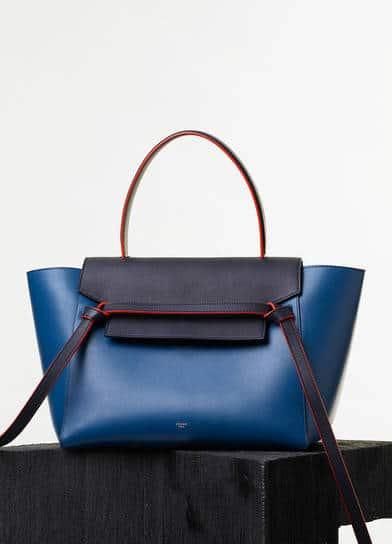 Celine Tie Bag Blue
