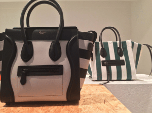 Celine Striped Mini Lugagge Bag - Spring 2015