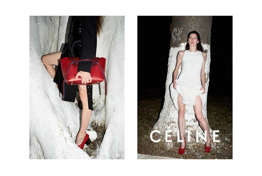 Celine Summer 2015 Ad Campaign Featuring New Bell Shaped