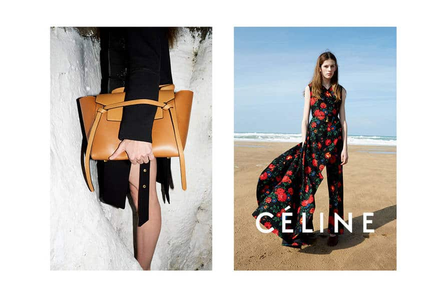 celene handbags - Celine Summer 2015 Ad Campaign featuring new Bell Shaped bag ...