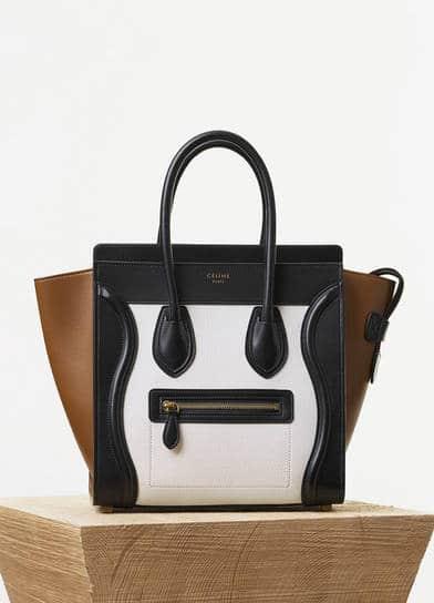 cheap replica celine handbags - Celine Micro Luggage Tote Reference Bag | Spotted Fashion