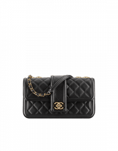 Chanel Black Flap Bag - Spring 2015 Act 1