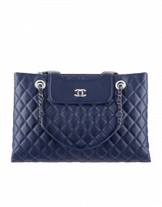 Chanel Blue Chanelx3 Tote Bag - Spring 2015 Act 1