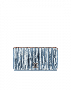 Chanel Denim Fringed Flap Bag - Spring 2015 Act 1